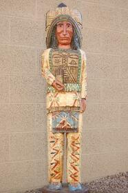 Thunderbird Chief Cigar Store Indian 34002