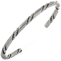 Double Twist Cuff Navajo Bracelet 12903
