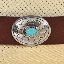 Unisex Silver Concho Hatband 29326