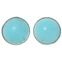 Native American Turquoise Post Earrings 25098