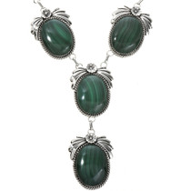Native American Gemstone Y Necklace 29170