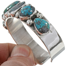 Navajo Turquoise Cuff Bracelet 28421