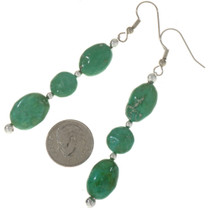 Natural Turquoise Earrings 28305