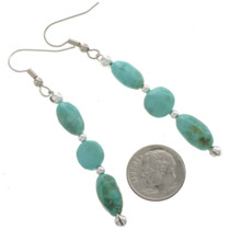 Turquoise French Hook Earrings 28266