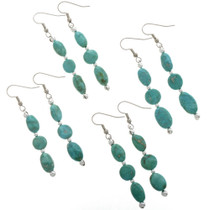 Natural Turquoise Earrings 28266