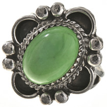 Navajo Green Turquoise Ladies Ring 28689