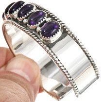 Navajo Gemstone Ladies Cuff 29125