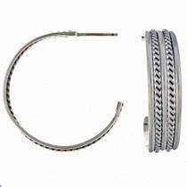 Navajo Hoop Earrings 14471