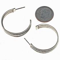Handmade Navajo Earrings 14471