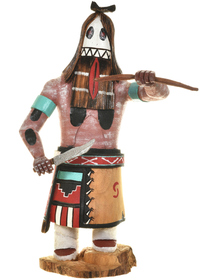 White Ogre Kachina Doll 28974
