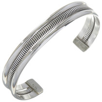 Sterling Native American Cuff 27798