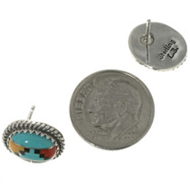 Sterling Southwest Navajo Post Earrings 287442