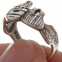 Silver Ladies Ring 16364