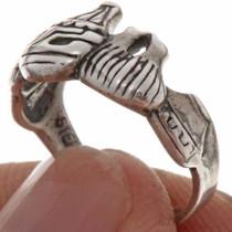 Silver Ladies Ring 16364