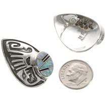 Southwest Style Sterling Earrings 15116
