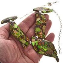 Jasper Turquoise Necklace 28769
