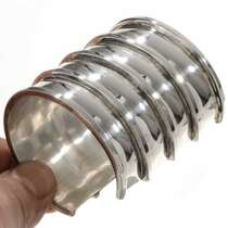 Navajo Wide Silver Cuff Bracelet 27711