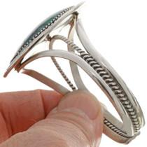 Hammered Silver Cuff Bracelet 14621