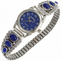 Native Ladies Lapis Watch 23523