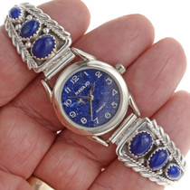 Lapis Watch Bracelet 23523