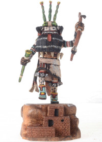 Prickly Pear Cactus Kachina 21252