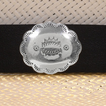 Navajo Leather Hatband 22097