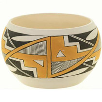 Pueblo Indian Pottery Bowl 27539