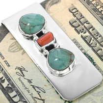 Southwest Turquoise Money Clip 11604
