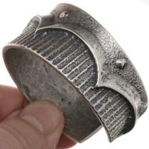 Cast Sterling Silver Bracelet 26005