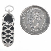 Sterling Silver Irish Soft Shoe Charm Bracelet Pendant Necklace