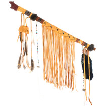 Navajo Medicine Bag Peace Pipe 27812