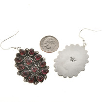 Old Pawn Silver Design Earrings 28845