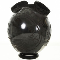 Black Wedding Vase