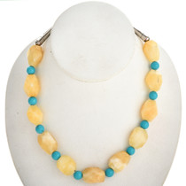 Native American Chunky Calcite Choker 29455