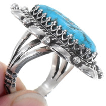 Navajo Natural Turquoise Sterling Jewelry 27823