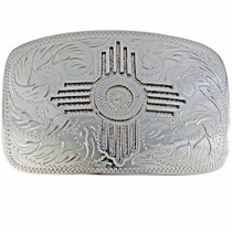 Overlaid Zia Belt Buckle 23636