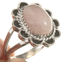 Navajo Sterling Pink Ladies Ring 28611