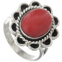 Mountain Jade Silver Ladies Ring 28616