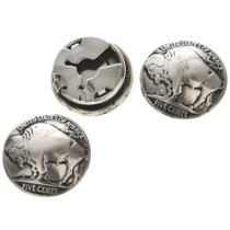 US Nickel Button Covers 23485
