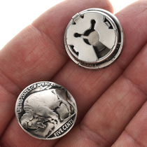 Genuine Buffalo Nickels Craft Supplies 23485