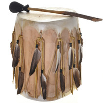 Vintage Indian Pow Wow Drum 29492