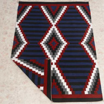 Step Pattern Navajo Rug 27309