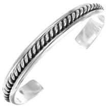 Twist Wire Sterling Silver Bracelet 12739