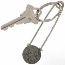 Buffalo Nickel Silver Key Ring 27674