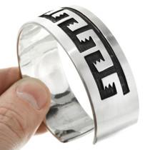 Sterling Silver Unisex Southwest Cuff Bracelet 30427