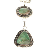 Turquoise Y Navajo Necklace 11236