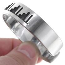 Hopi Style Pattern Cuff Jewelry 23236