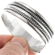 Double Twist Wire Bracelet 12894