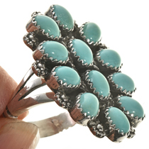 Kingman Turquoise Ring 28826
