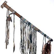 Traditional Medicine Bag Peace Pipe 24560